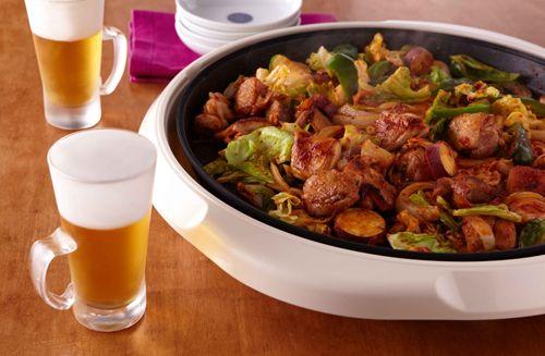 たっぷり野菜のタッカルビ   お酒にピッタリ!おすすめレシピ   サッポロビール