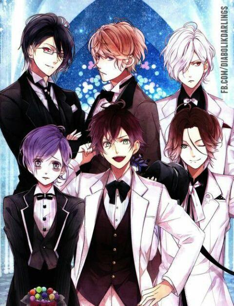 Diabolik Lovers the Sakamaki brothers diabolik lovers Diabolik Lovers-Anime