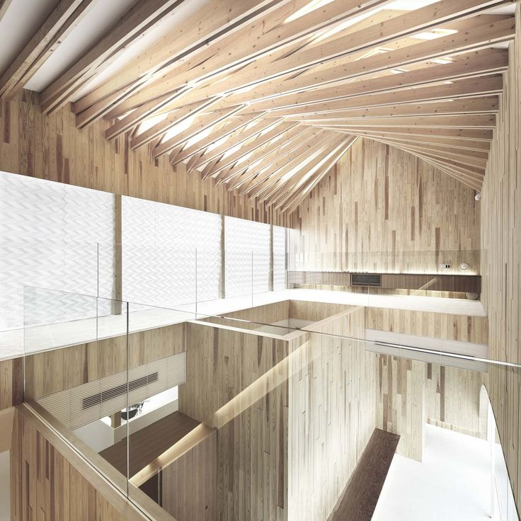 Dental Surgery by Kohki Hiranuma Architect. #morfae #kohkihiranuma #timberstructures #architecture