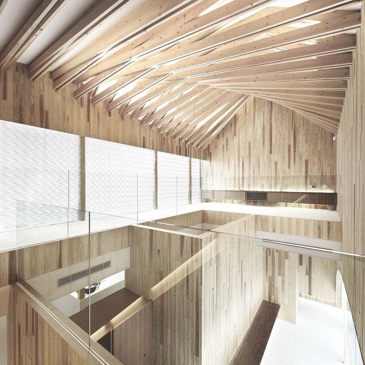 Dental Surgery by Kohki Hiranuma Architect. #morfae #kohkihiranuma #timberstructures #architecture