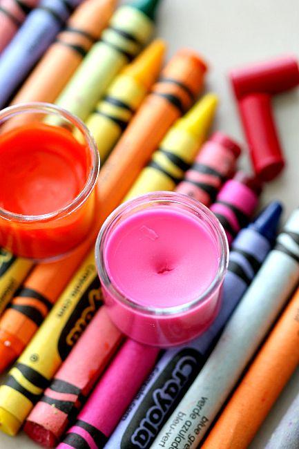 DIY 2 Ingredient Crayon Lip Gloss