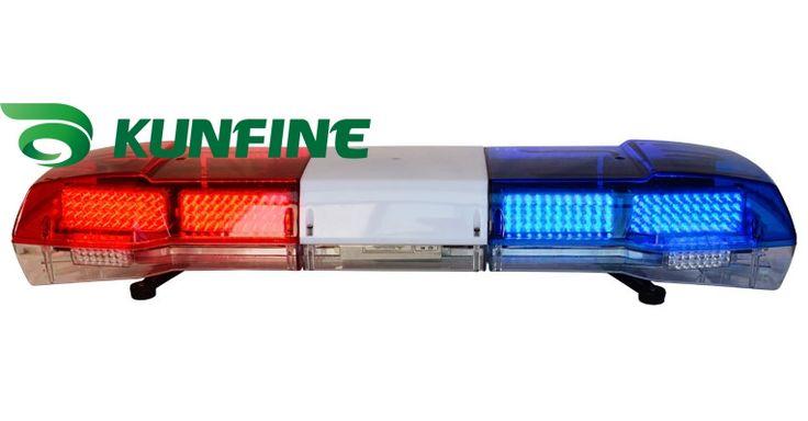 163.20$  Buy here - http://alih9v.worldwells.pw/go.php?t=1922663656 - 2014 High quality Warning lightbar LED police light bar and Speaker( optional) DC 12V Emergency strobe warning light KF1800
