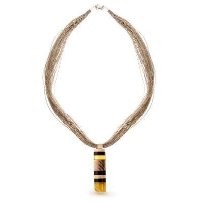 Amberwood necklace for W.KRUK