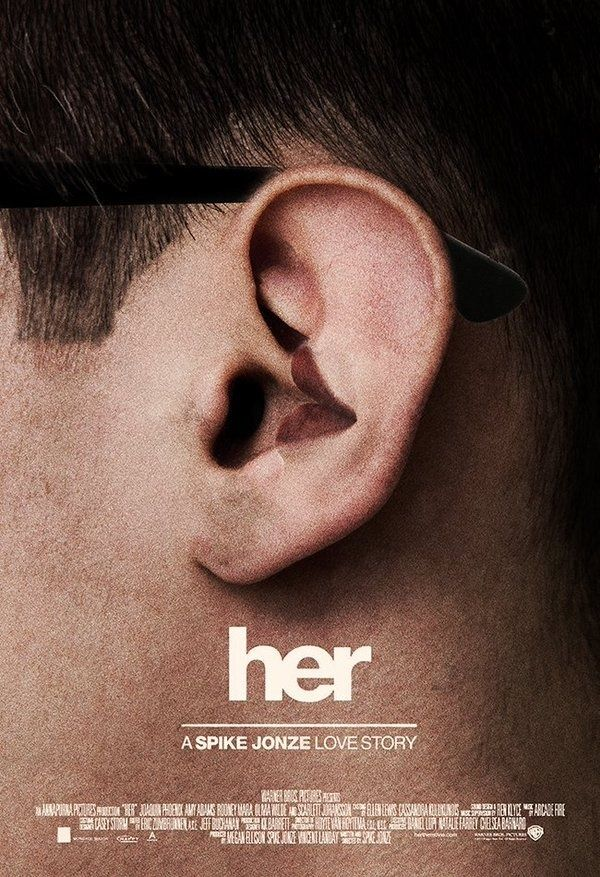 Spike Jonze - Her #film #poster #graphic #design