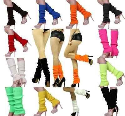 Super Sexy Soft Knit Thick Leg Warmer Long Knee High Dancerwear Hosiery Stocking