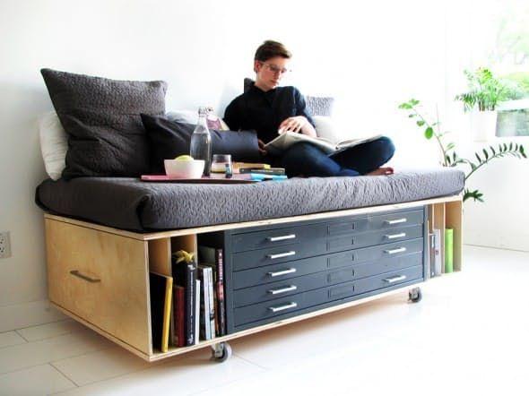 DIY-Möbel für kleine Räume sind flexibel und fu…