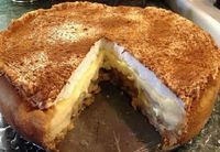 A Torta de Banana com Canela é deliciosa e perfeita para a sobremesa da sua família. Faça e comprove! Veja Também: Torta de Bolacha Maria Veja Também: Tort