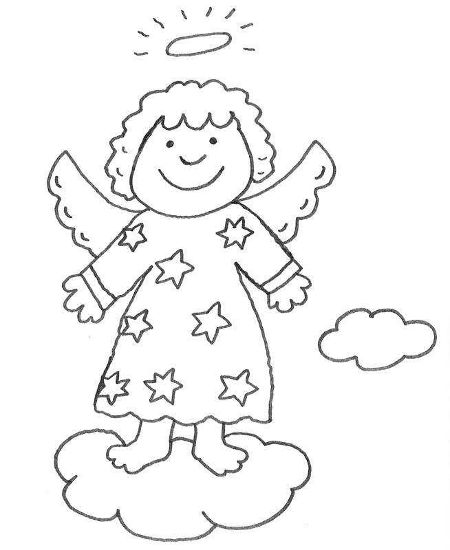 Över 1000 idéer om Malvorlage Engel på Pinterest | Dark angels ...
