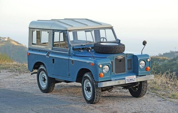 1971 Land Rover Series 2A 88 Station Wagon