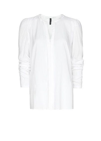 V-neck light shirt