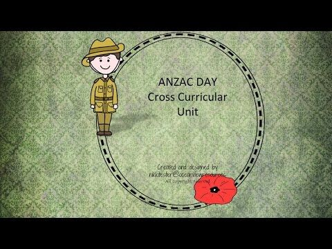 ANZAC DAY resource YOUTUBE preview - YouTube