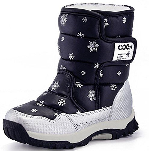 High quality children boots 2016 new girls boots boys waterproof snow boots  kids winter boots