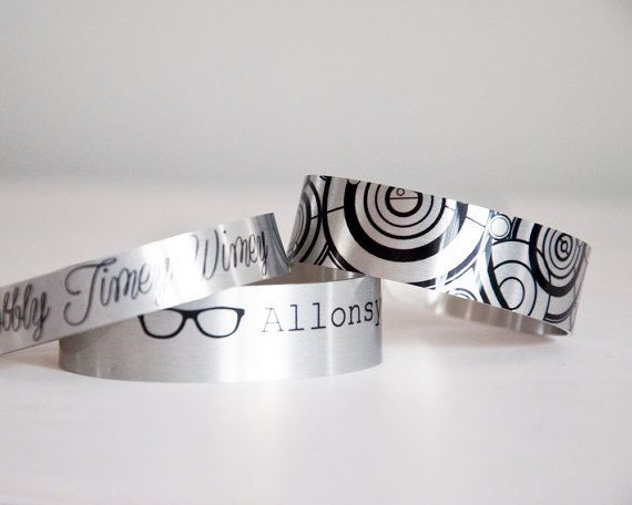Doctor Who Bracelet Set Doctor Who Jewelry Cute Geek Christmas Gift Accessory 11th Doctor 10th Doctor Doctor Who Cosplay Doctor Who Jewelry