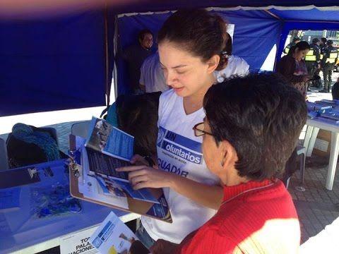 Programa de Voluntários da ONU (UNV) e o espírito do voluntariado. Cerca de 70% dos voluntários da ONU servem em países que não são os seus próprios. Eles são recrutados por suas especialidades profissionais para atuar em programas de desenvolvimento e, de forma crescente, em áreas de manutenção da paz, assistência humanitária e processos eleitorais apoiados pela ONU. Saiba mais em https://nacoesunidas.org/onu-no-brasil/unvpnud/  e  https://nacoesunidas.org/vagas/voluntariado/  - YouTube.
