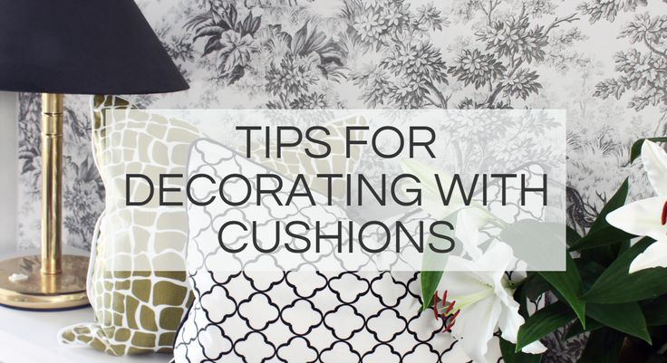 Download the whole guide DECORATE WITH CUSHIONS