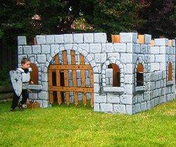 Magic Castle cardboard toys