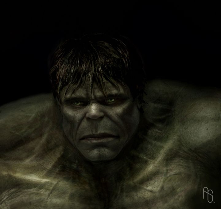 Hulk 3, The Incredible Hulk by aaronsimscompany.deviantart.com on @deviantART