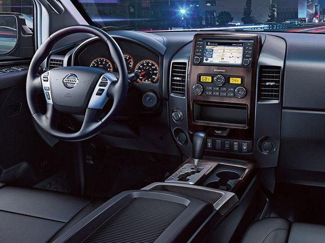 nissan titan diesel interior