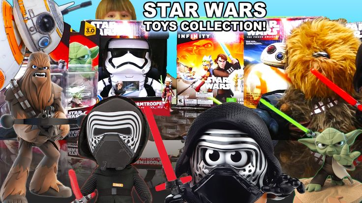 Star Wars Toys Collection AND Star Wars Kinder Eggs