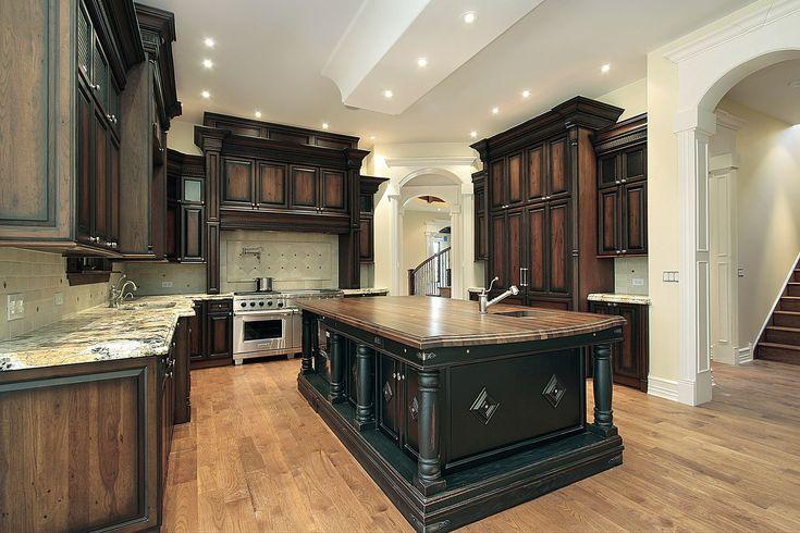 Best Staining Kitchen Cabinets Ideas   Inspired Kitchen Designs