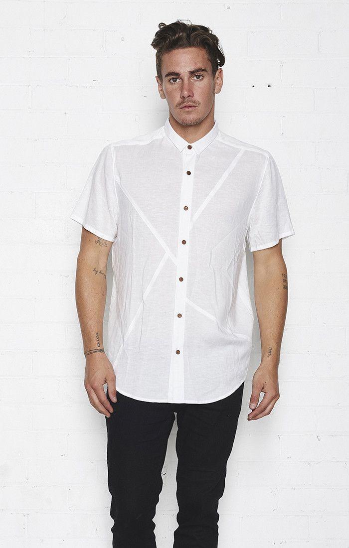nana judy - Raider Short Sleeve Shirt White- Nana Judy