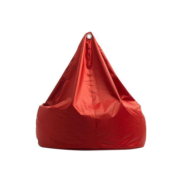 Amalfi Bean Bag Red - Dare Gallery