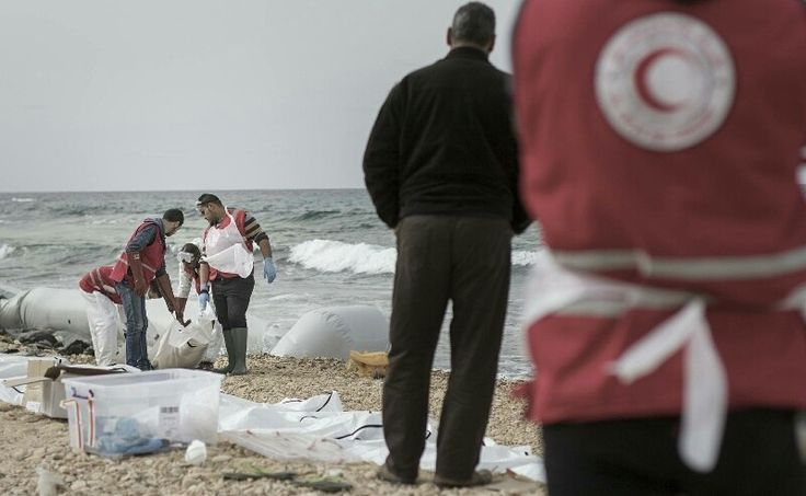 74 BODIES OF MIGRANTS WASH UP ON LIBYAN COAST