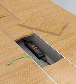Ambus Office Furniture Cable Management