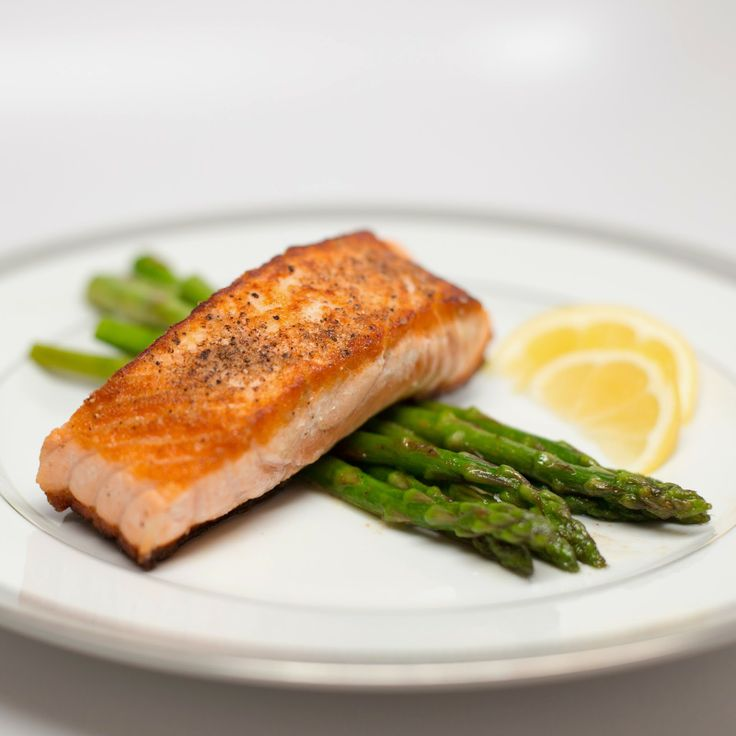 Straight to the Hips: Pan-Seared Salmon with Lemon Butter Asparagus