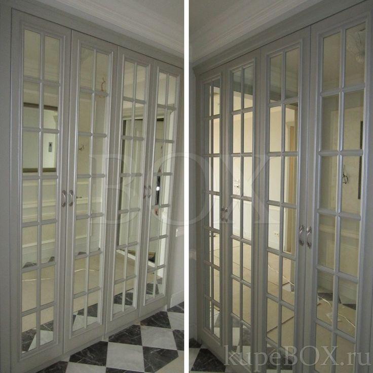 Шкаф в прихожую с распашными фасадами из МДФ