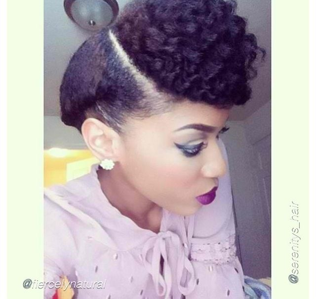 97 best protective styles for natural hair images on pinterest veery beautiful protective style curls in the front accented with a braid going back great style works with hair natural butters with out chemicals can pmusecretfo Image collections