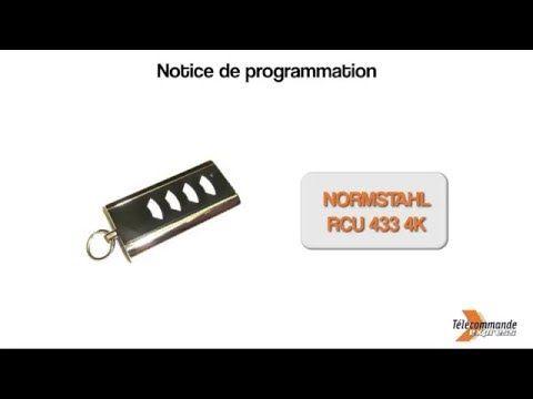 Programmer une télécommande NORMSTAHL RCU 433 4K - YouTube