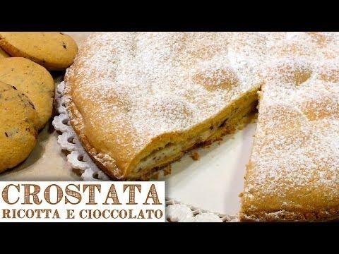CROSTATA DI RICOTTA E CIOCCOLATO FATTA IN CASA - Homemade Ricotta Cheese & Chocolate Pie - YouTube