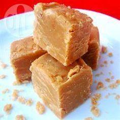 Fudge au beurre de cacahuètes @ allrecipes.fr