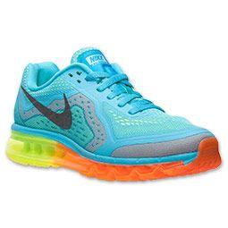 Men's Nike Air Max 2014 Running Shoes | FinishLine.com | Gamma Blue/Black