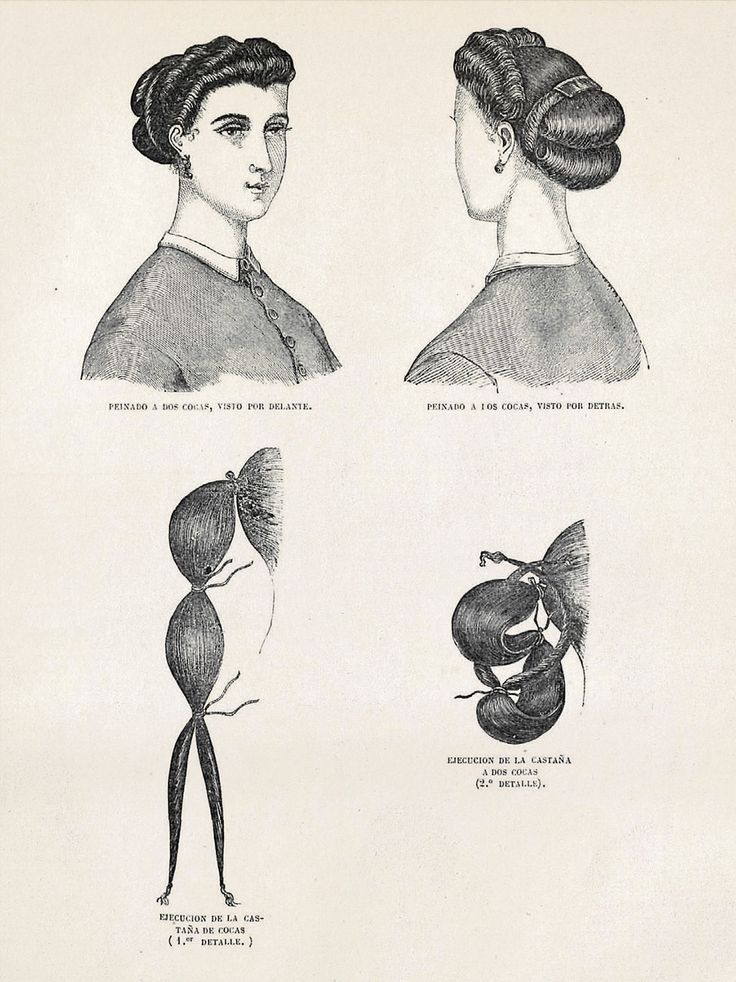Tremendous 1000 Images About 1850 1869 Hats Amp Hair Styles On Pinterest Short Hairstyles For Black Women Fulllsitofus