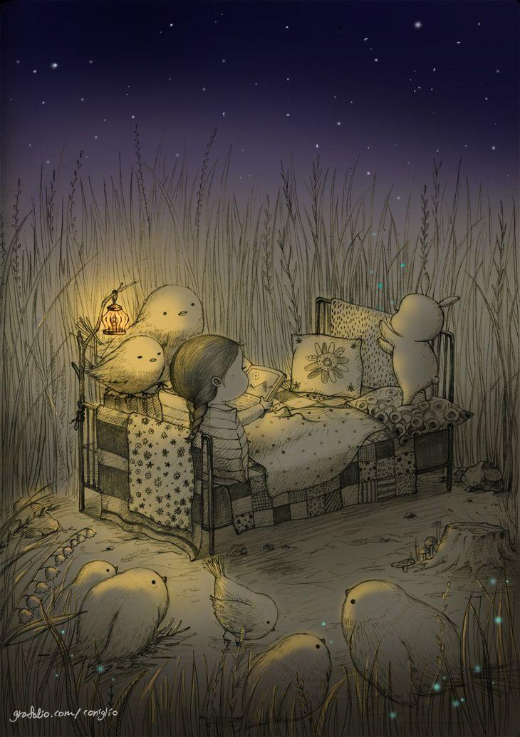 잠을 청하지 않아도 꿈꿀 수 있는 지금 이 순간이 너무 좋아.  I love this moment that I can dream without sleeping.
