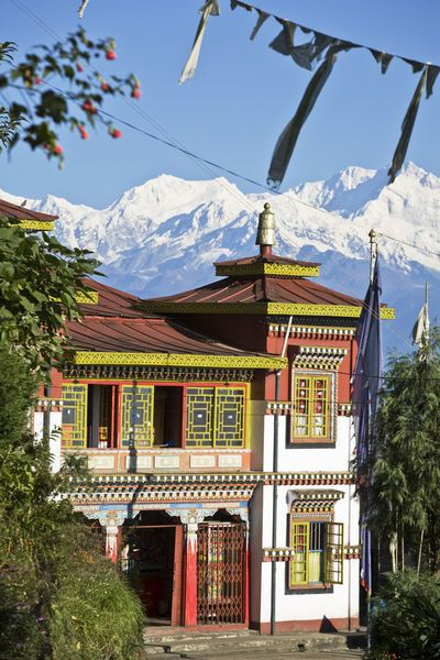 Darjeeling, India. A perfect retreat experience awaits you in Darjeeling near the base of Mt. Kangchenjunga in the Himalaya Mountains.