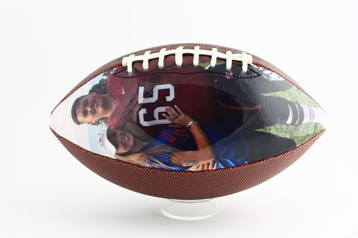 Show your football player you are their number one fan with this Valentine's Day gift idea. Customize your own football with Make A Ball!