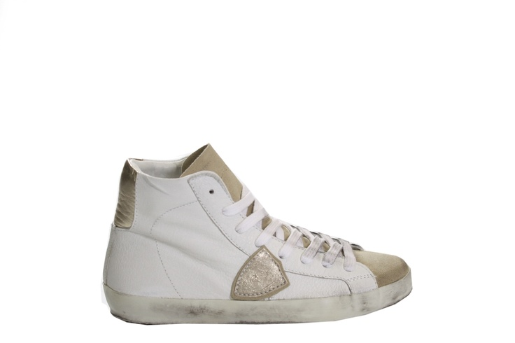 PHILIPPE MODEL HIGH SNEAKERS WITH GOLD  http://www.montenapoleoneluxury.com/products/women-shoes/philippe-model/sneakers/090339244918040623003/philippe-model-high-sneakers.html?cGFnZT0xMQ%3D%3D