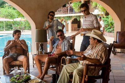 The cast of Narcos