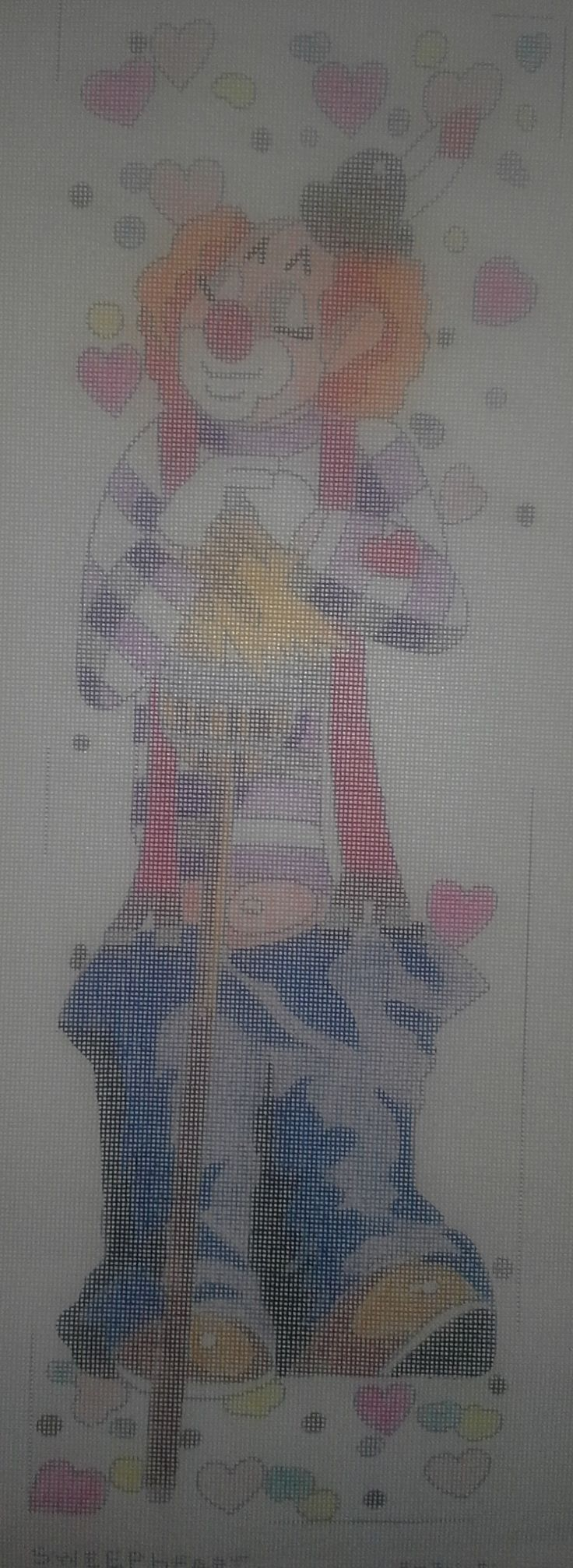 Sasi Creations Inc. Sweepheart 3034 1T Needlepoint Canvas