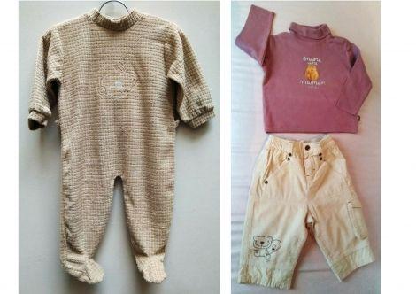Cadet Rousselle , ensemble 12 mois en vente + pyjama .