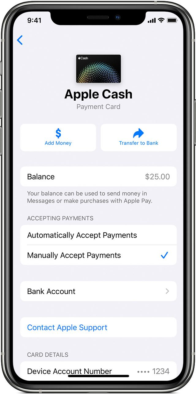 Send And Receive Money With Apple Pay In 2020 Apple Pay Send Money Apple Support