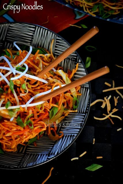 Indo-Chinese, Crispy Noodles