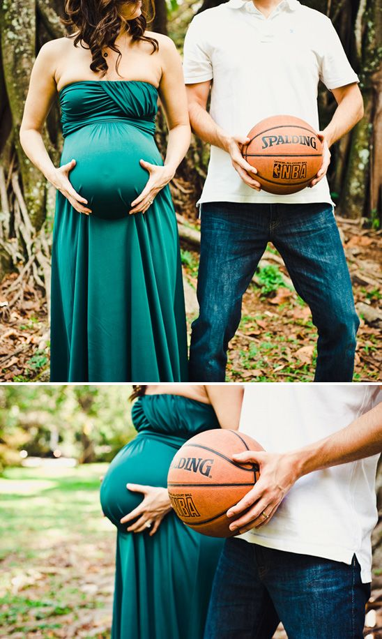 this would be cute if the dad used to play basketball or if he was a big basketball fan...