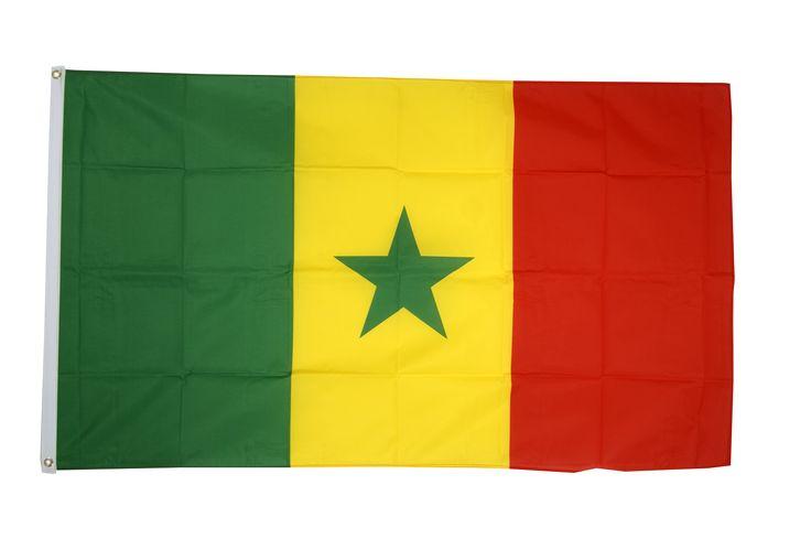 Drapeau Sénégal - 90 x 150 cm - maison-des-drapeaux.com