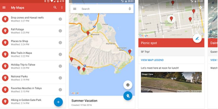 Do you remember Google's My Maps app? No, not the one you use to find the nearest Starbucks, but the app you use to create and view custom maps. Probably not; the app just recieved its first update since 2014.
