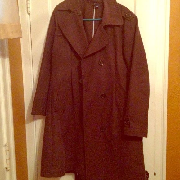 Gap-Chocolate Brown Trench Coat Like new Gap Trench Coat. Very good quality. GAP Jackets & Coats Trench Coats