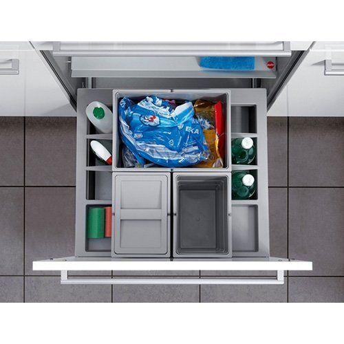 Hailo Separato K 60 Frontauszug Küchenmülleimer Mülleimer